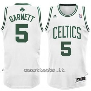 canotta #5 kevin garnett boston celtics revolution 30 bianca