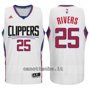 canotta austin rivers #25 los angeles clippers 2015-2016 bianca