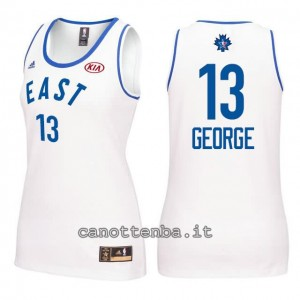 canotta nba donna all star 2016 paul george #13 bianca