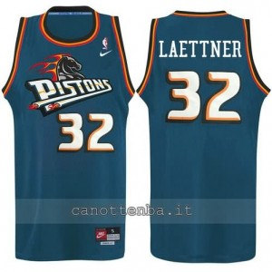 canotta ben wallace #32 detroit pistons alternato
