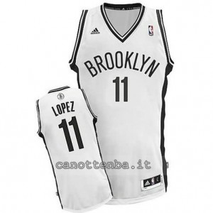 canotta brook lopez #11 brooklyn nets revolution 30 bianca