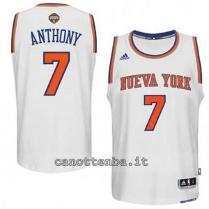 canotta carmelo anthony #7 new york knicks 2014-2015 bianca