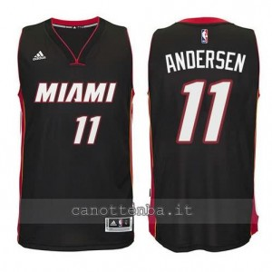 canotta chris andersen #11 miami heat 2014-2015 nero