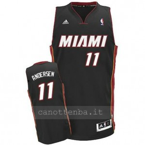 canotta chris andersen #11 miami heat revolution 30 nero