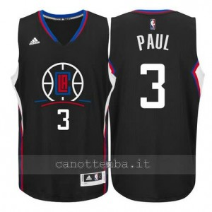 canotta chris paul #3 los angeles clippers 2015-2016 nero