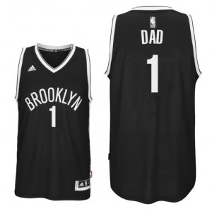 canotta dad logo 1 brooklyn nets 2016 nero
