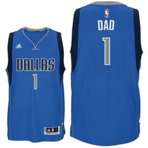 canotta dad logo 2 dallas mavericks 2015-2016 blu