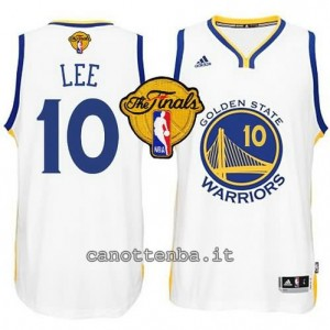 canotta david lee #10 golden state warriors finale 2015 bianca