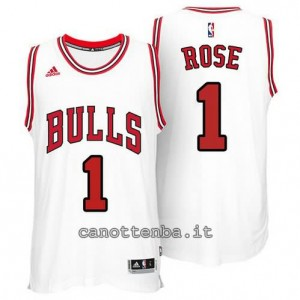 canotta derrick rose #1 chicago bulls 2014-2015 bianca