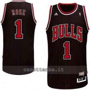 canotta derrick rose #1 chicago bulls revolution 30 striscia