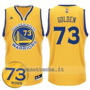 canotta golden state warriors 73 wins 2016 giallo