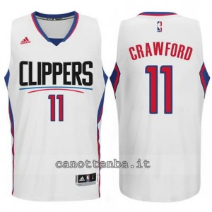 canotta jamal crawford #11 los angeles clippers 2015-2016 bianca