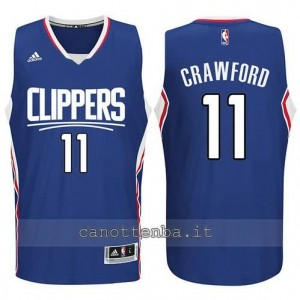 canotta jamal crawford #11 los angeles clippers 2015-2016 blu