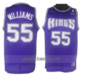 canotta jason williams #55 sacramento kings porpora
