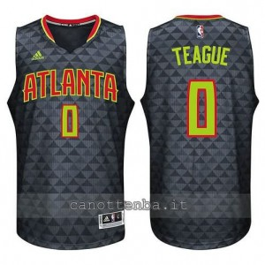 canotta jeff teague #0 atlanta hawks 2015-2016 nero