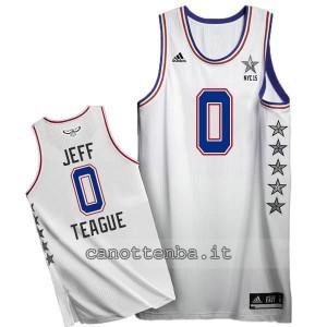 canotta jeff teague #0 nba all star 2015 bianca