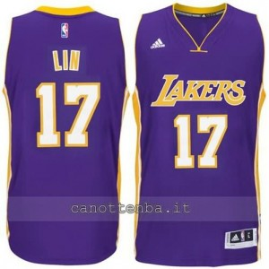 canotta jeremy lin #17 los angeles lakers 2014-2015 porpora
