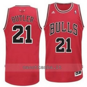 canotta jimmy butler #21 chicago bulls revolution 30 rosso