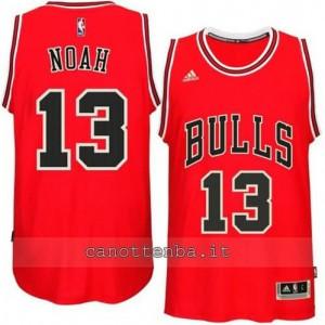 canotta joakim noah #13 chicago bulls 2014-2015 rosso