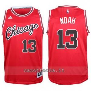 canotta joakim noah #13 chicago bulls 2015-2016 rosso