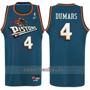 canotta joe dumars #4 detroit pistons alternato