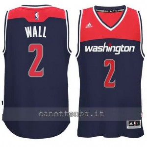 canotta john wall #2 washington wizards 2014-2015 blu
