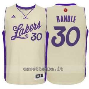 canotta julius randle #30 los angeles lakers natale 2015 giallo
