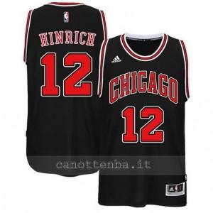 canotta kirk hinrich #12 chicago bulls 2014-2015 nero