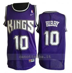 canotta mike bibby #10 sacramento kings porpora