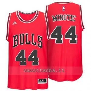 canotta nikola mirotic #44 chicago bulls 2014-2015 rosso