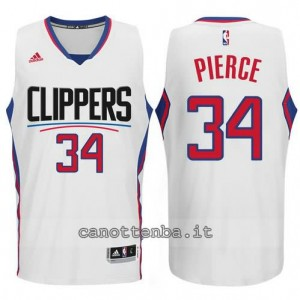 canotta paul pierce #34 los angeles clippers 2015-2016 bianca