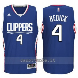 canotta redick #4 los angeles clippers 2015-2016 blu