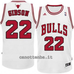 canotta taj gibson #22 chicago bulls revolution 30 bianca