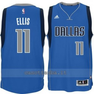 Canotta JaVale McGee #11 dallas mavericks 2015 blu