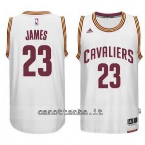 Canotta LeBron james #23 cleveland cavaliers 2014-2015 bianca