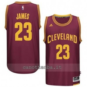Canotta LeBron james #23 cleveland cavaliers 2014-2015 rosso