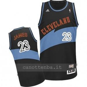 Canotta LeBron james #23 cleveland cavaliers retro blu