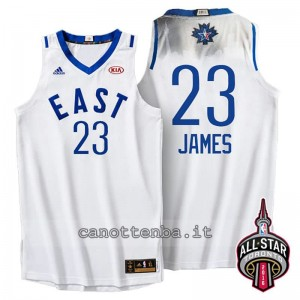 Canotta LeBron james #23 nba all star 2016 bianca
