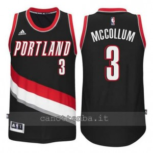 Canotta McCollum #3 portland trail blazers 2014-2015 nero