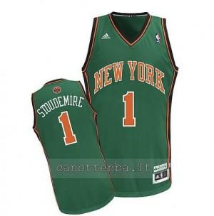 Canotta amar'e stoudemire #1 new york knicks verde