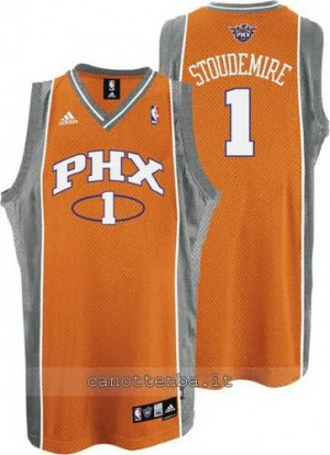 Canotta amar'e stoudemire #1 phoenix suns soul arancia