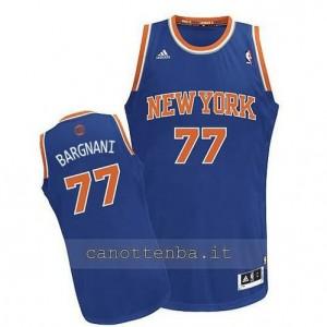 Canotta andrea bargnani #77 new york knicks revolution 30 blu