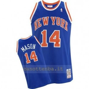 Canotta anthony mason #14 new york knicks blu