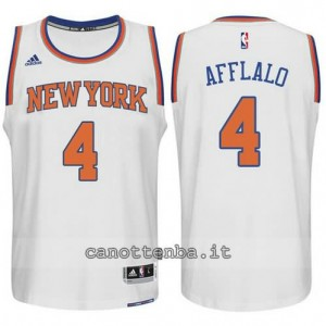 Canotta arron afflalo #4 new york knicks 2015 swingman bianca