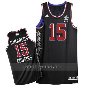 canotta nba DeMarcus cousins #15 nba all star 2015 nero