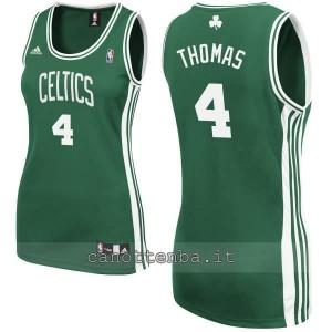 canotta nba donna boston celtics isaiah thomas #4 verde