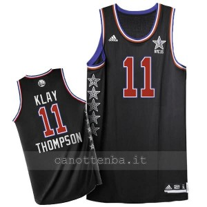 canotta nba klay thompson #11 nba all star 2015 nero