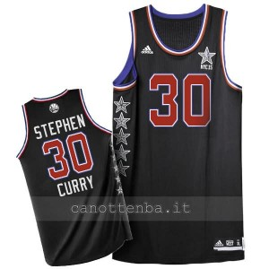 canotta nba stephen curry #30 nba all star 2015 nero