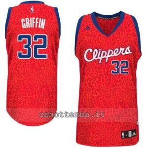 Canotta blake griffin #32 los angeles clippers leopard
