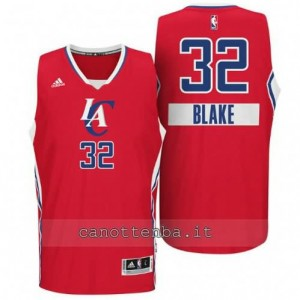 Canotta blake griffin #32 los angeles clippers natale 2014 rosso